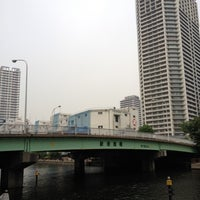 Photo taken at 新港南橋 by Kenichi S. on 5/17/2012