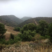 Photo taken at Caballero Canyon Trail Access by Virginia M. on 7/4/2012