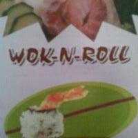 Photo taken at Wok 'n Roll by Melesa N. on 8/25/2012