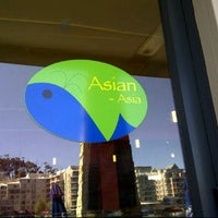Photo taken at Asian-Asia Restaurant - Tyger Waterfront by Erin M. on 2/18/2012
