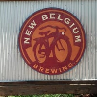 Photo taken at New Belgium Brewing by Stephen C. on 7/13/2012
