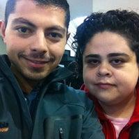 Photo taken at Banco Santander by Jozamora on 4/18/2012