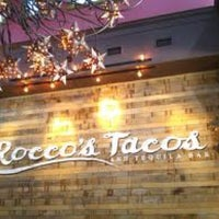 Photo taken at Rocco's Tacos and Tequila Bar by John R. on 3/30/2012
