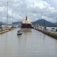 Photo taken at Esclusas de Miraflores by Capt M. on 6/30/2012