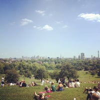 Photo taken at Primrose Hill by Tom P. on 7/22/2012