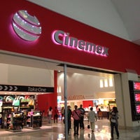 Photo taken at Cinemex by Pablo E. on 2/26/2012