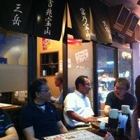 Photo taken at 博多串焼き 九州バリ鉄 by kazuhiro s. on 5/26/2012
