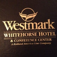 Photo taken at Westmark Whitehorse by Mark R. on 5/27/2012