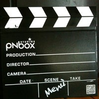 Photo taken at Pnbox by Stefania G. on 2/26/2012