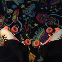 Photo taken at Rivergate Skate Center by Anthony M. C. on 8/9/2012