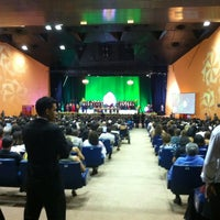 Photo taken at Auditório Yemanjá by Ton S. on 3/24/2012