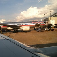 Photo taken at Gate D38 by Jeffrey P. on 5/14/2012