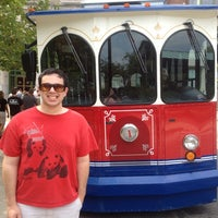 Photo taken at Anheuser-Busch Trolley by Amy on 8/25/2012