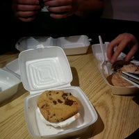 Photo taken at Insomnia Cookies by Kenny W. on 3/8/2012