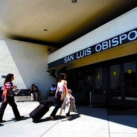 Photo taken at San Luis Obispo County Regional Airport (SBP) by slonews on 2/11/2012
