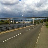 Photo taken at Redheugh Bridge by Paul T. on 5/12/2012