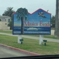 Photo taken at Mission Beach Boardwalk by Jorge V. on 8/5/2012