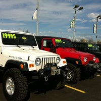 Photo taken at Cross Chrysler Jeep by Juan D. on 3/19/2012