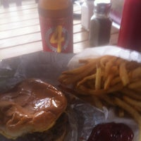 Photo taken at Hat Creek Burger Company by Marc M. on 4/13/2012