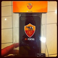 Photo taken at AS Roma Store by 🌟Enrico C. on 8/6/2012