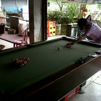 Photo taken at Billiard bajera by Gus M. on 3/4/2012