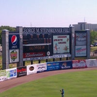 Photo taken at George M Steinbrenner Field by Roberto M. on 4/4/2012
