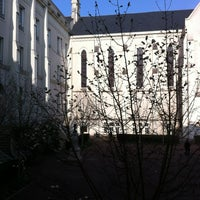 Photo taken at Maison des Arts by LOKKILUCK L. on 3/24/2012