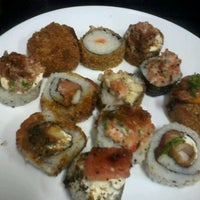 Photo taken at A3 Sushi by Priscilla R. on 9/6/2012