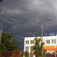 Photo taken at Школа №1347 (главное здание) by bolart on 9/3/2012