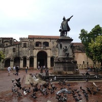 Photo taken at Parque Colón by Denis S. on 7/21/2012