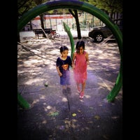 Photo taken at Hoyt Playground by Percy D. on 7/25/2012