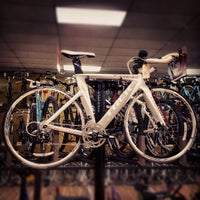 Photo taken at Bert's Bikes & Fitness by Davaish S. on 4/28/2012