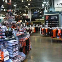 Photo taken at Giants Dugout Store by Danielle S. on 2/11/2012