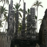 Photo taken at Puʻuhonua o Hōnaunau National Historical Park by J L. on 4/9/2012