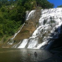 Photo taken at Ithaca Falls by Ed C. on 8/19/2012