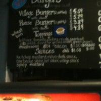 Photo taken at Village Burger by David M. on 3/16/2012
