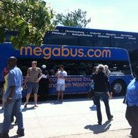 Photo taken at Megabus Stop - White Marsh Park & Ride by Rhea on 6/9/2012