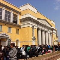 Photo taken at Городской дворец культуры by Анна М. on 5/3/2012