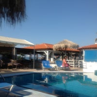 Photo taken at Aeolos Beach Bar by Angel Z. on 6/4/2012