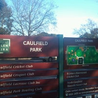 Photo taken at Caulfield Park by Ruben S. on 7/25/2012