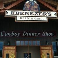 Photo taken at Ebenezers Barn & Grill by Adam W. on 7/20/2012