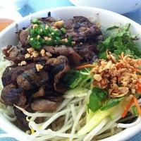 Photo taken at Pho Saigon Pasteur Vietnamese Noodle House by Gladys L. on 6/9/2012