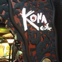 Photo taken at Kona Café by Douglas A. on 7/3/2012