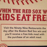 Photo taken at Ninety Nine Restaurant by Alicia R. on 5/29/2012
