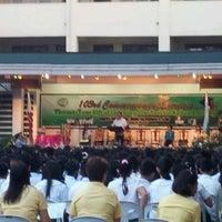 Photo taken at C. Arellano High School by Carlo E. on 4/1/2012