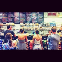 Photo taken at Chicago Bagel Authority by Blake S. on 8/4/2012