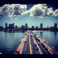 Photo taken at St. Petersburg Pier by Gabriel P. on 7/7/2012