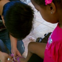 Photo taken at A.D. Nails by Mikesha C. on 8/10/2012