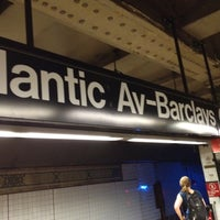 Photo taken at MTA Subway - Atlantic Ave/Barclays Center (B/D/N/Q/R/2/3/4/5) by Nate F. on 7/18/2012