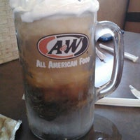 Photo taken at A & W by Amber L. on 4/28/2012